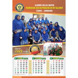 Kalender Tahun 2023 Ukuran 32 X 48 Cm