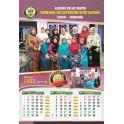 Kalender 2023 Ukuran 38 X 54  Cm