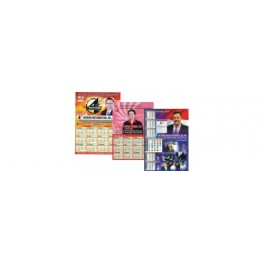 Atribut, Pilkada dan Partai. Kalender 38 x 54 cm, Tahun 2023