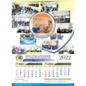 Kalender 2024 Ukuran 32 X 64 Cm