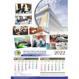 Kalender 46 X 64 Cm, Tahun 2024