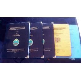 Jasa desain, cetak dan jilid hard cover Skripsi, Tesis dan Disertasi