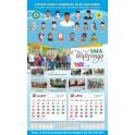Kalender Murah 38 X 64 Cm, Tahun 2022