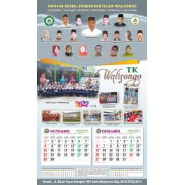Kalender Murah 2022 Ukuran 32 X 64 Cm