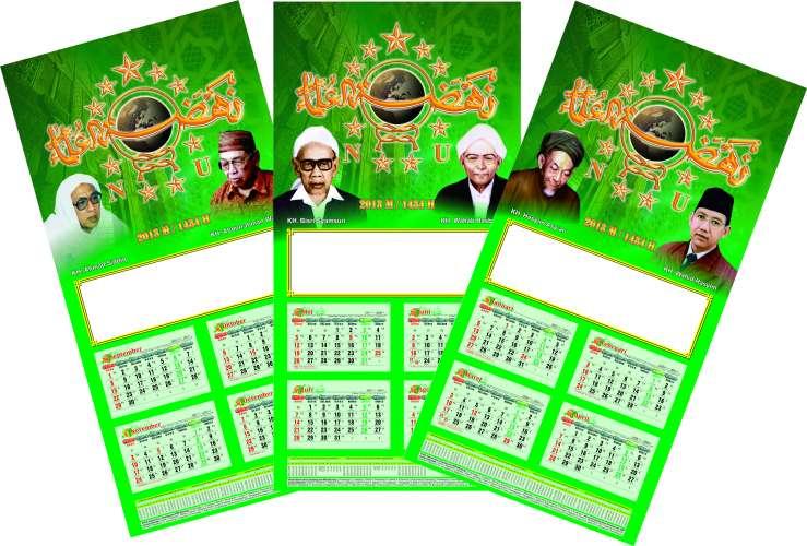 kalender NU tahun 2013